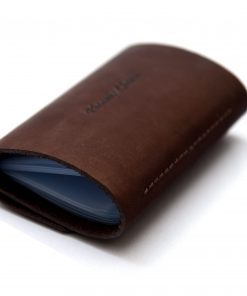 Phoenix Charm Handcrafted Soft Leather Credit / ID Cards Holder Wallet